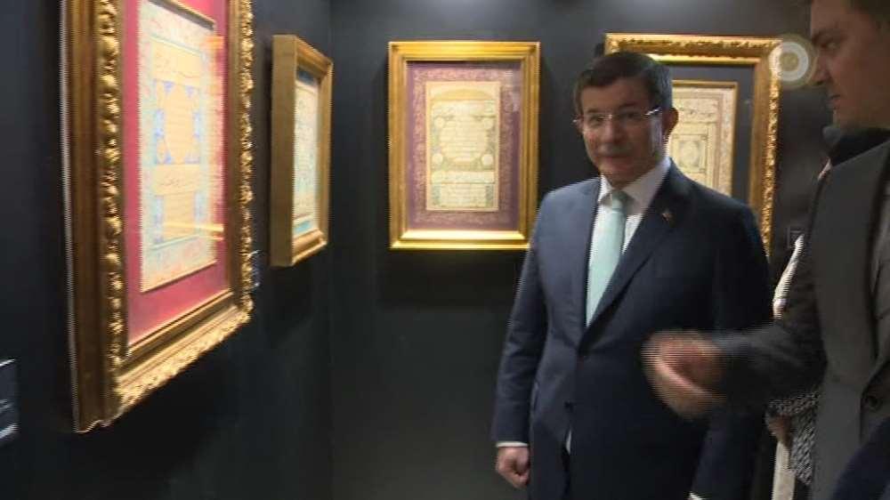 Davutoğlu Ayasofya'da Açılışını Yaptığı Müzeyi Gezdi