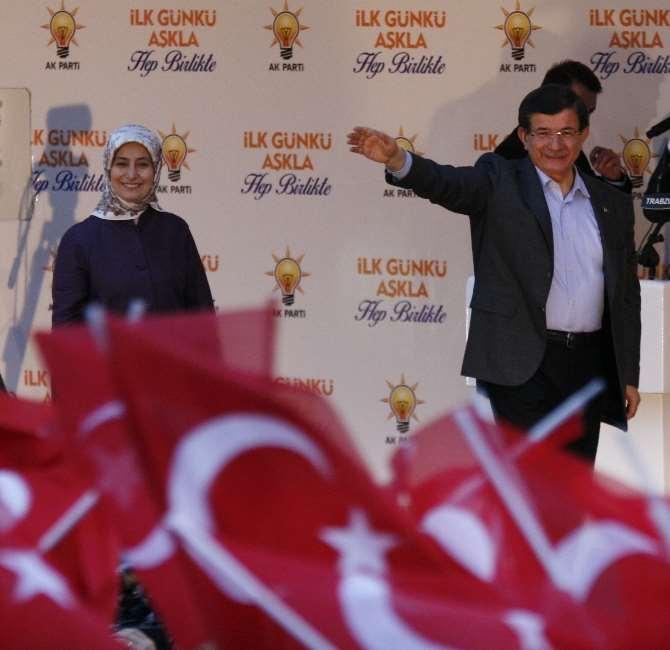 Davutoğlu, Trabzon'dan Ayrıldı