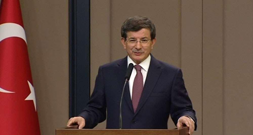 Davutoğlu'ndan Yeni Türkiye Yolunda Konuşması