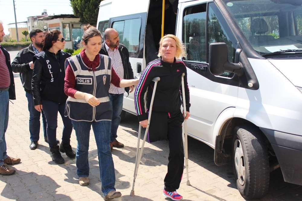 Engelli Kadın Taciri Yakalandı