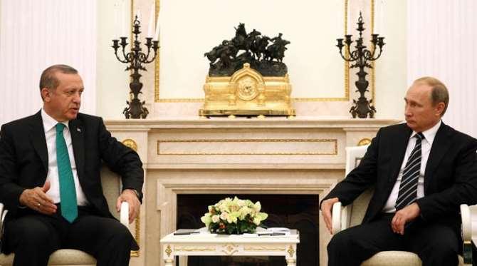Erdoğan Putin'e Esed'in Ziyaretini Sordu