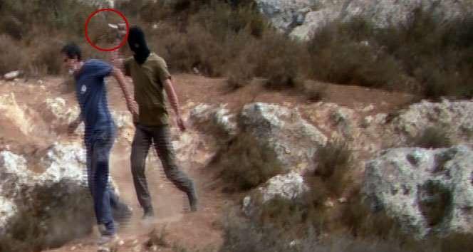 Gözü Dönmüş İsrailli, Filistinlilere Yardım Edenlere Saldırdı