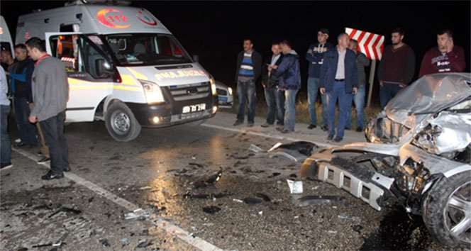 Hatalı Sollama Kazaya Yol Açtı: 2 Yaralı