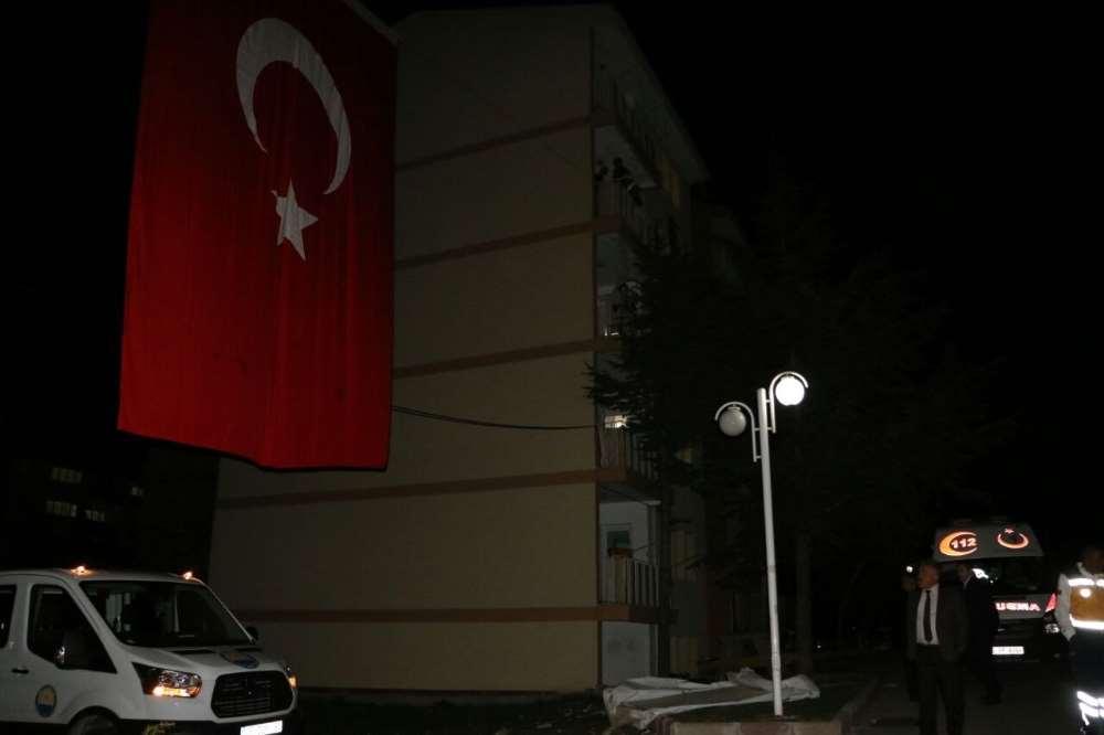 Hataylı Şehidin Ankara'daki Evine Ateş Düştü