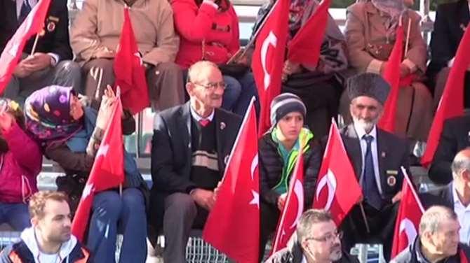 İstanbul'da 29 Ekim Coşkusu