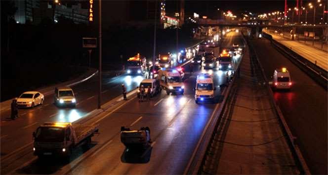 İstanbul'da Feci Kaza: 1 Ölü 1 Yaralı!