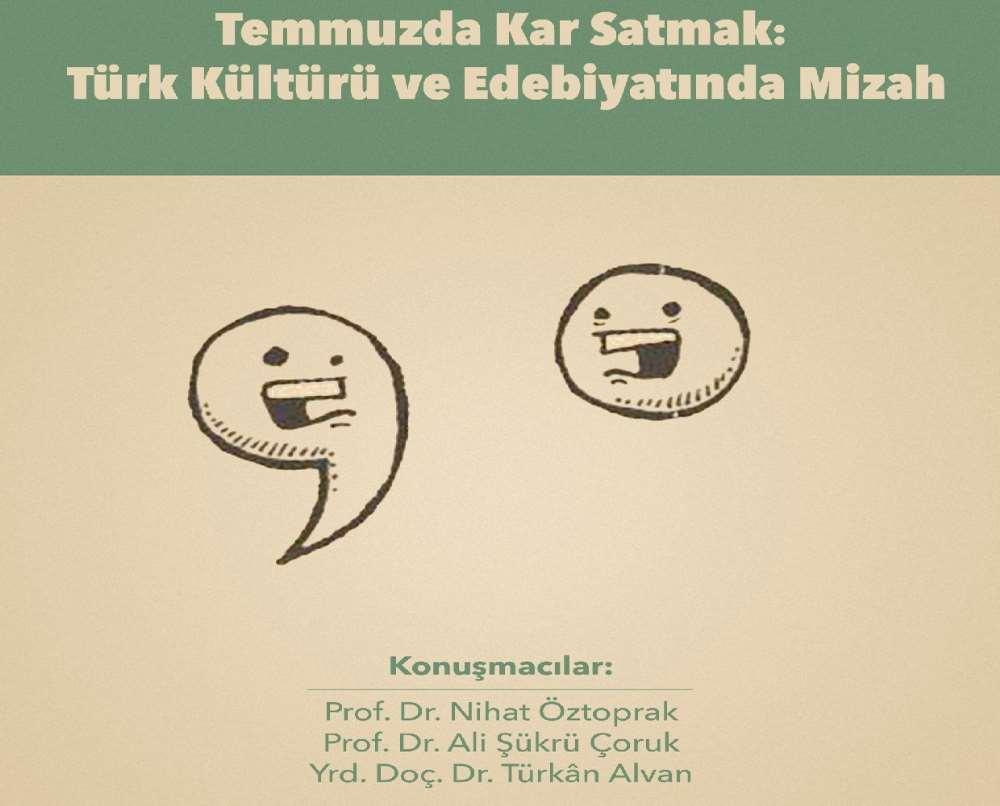 Türk Kültürü Ve Edebiyatında Mizahın Yeri
