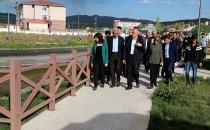 AVCI, ÖZALP VE SARAY'DA İNCELEMELERDE BULUNDU