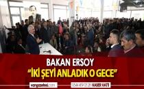 BAKAN YARDIMCISI ERCİŞTE