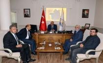 Bem-Bir-Sen Genel Başkanı Vali Zorluoğlu'nu ziyaret etti