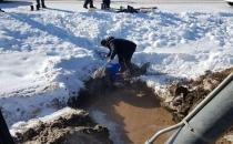 Dondurucu Soğukta Zor Görev