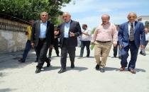 EŞ BAŞKAN MAHALLELER'DE İNCELEMLERDE BULUNDU