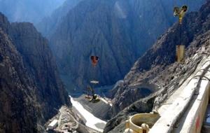 Hidroelektrik Santrali projesinde sona geliniyor.