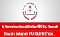 İş Garantili Eğitim İle 480 Kişi Alınacak