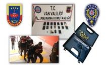 Jandarma Ve Emniyetten Van Merkezli 10 İlde Terör Operasyonu