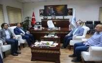 Kadıoğlu'ndan Tuşba Belediyesi'ne ziyaret