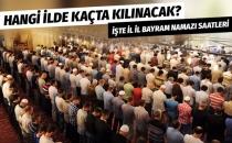 Kurban Bayramı il il namaz saatleri İstanbul Ankara İzmir...