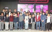 Öğrencilerin sinema ile buluşma anı
