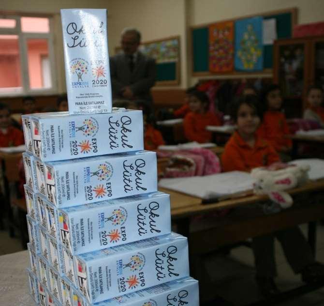 'okul Sütü' İhalesi Yapıldı