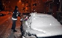 Trakya'da kar başladı, İstanbul'a ilerliyor