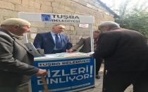 TUŞBA BELEDİYESİ'NDEN 'SEÇİM SLOGANI