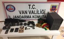 Van Erciş'te Terör Operasyonu 5 kişi Yakalandı