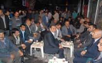 Van Kültürü Yaşatma ve Dayanışma Derneği'nden MHP Seçim Bürosuna Ziyaret