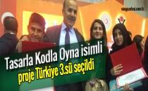 VAN'LI ÖĞRENCİNİN PROJESİ TÜRKİYE 3.SÜ OLDU