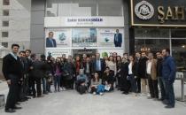 YYÜ Öğrencilerinde VATSO adayı Kandaşoğlu'na destek ziyaret