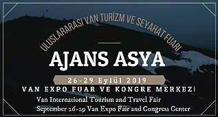 AJANS ASYA - Van International Tourism and Travel Fair -ULUSLARARASI VAN TURİZM VE SEYEHAT FUARI