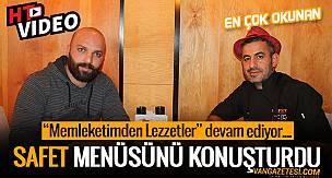 VAN GAZETESİ TV YAYINI SAFET steakhouse ve kasap İşletme Şefi: TAHİR ŞİPİ