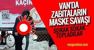 SON DAKİKA! VAN HABER - VAN'DA ZABITALAR MASKE SATANLARI KOVALADI