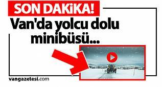 van haber - Son Dakika Van! Van'da yolcu dolu minibüs... İşte O video...