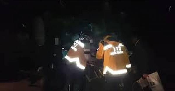 Van'da doğum yapacak kadını polis helikopteri böyle kurtardı