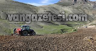 Çiftçiler yaşadı -Büyük destek...