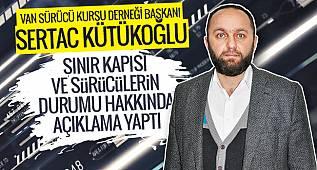 Sertaç Kütükoğlu Van Gazetesi'ne Sürücüler Derneği Konuşması