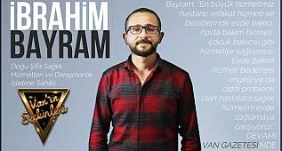 Doğu Şifa işletme sahibi İbrahim Bayram, Van'ın Seçkinlerine konuk oldu - Van haber'de