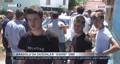 Anadolu'da Düğünler Eskisi Gibi