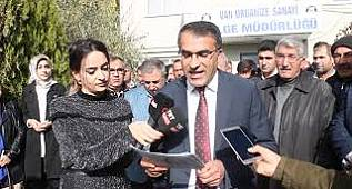 """OSB Başkanı Aslan: """"2022'ye kadar görevimizin başındayız"""" VAN GAZETESİ ÖZEL"""