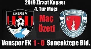 Vanspor 1-0 Sancaktepe Maç Özeti (2019)