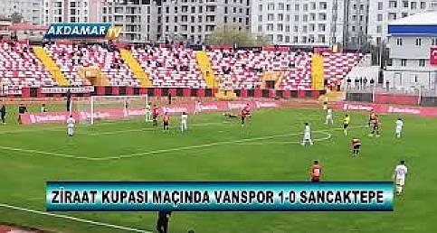 Vanspor 1, Sancaktepespor 0 (Geniş Maç Özeti)